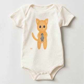 Kawaii Cat Baby Shirt