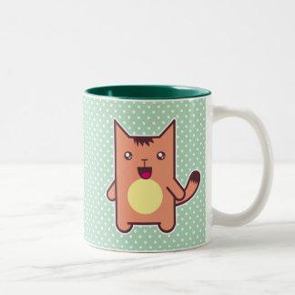 Kawaii cat coffee mugs