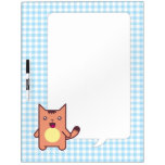 Kawaii cat dry erase boards