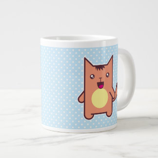 Kawaii cat extra large mugs