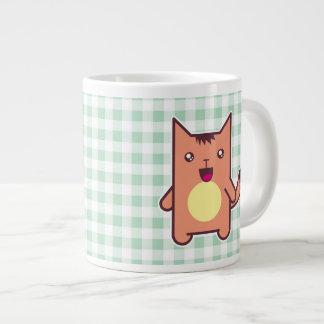 Kawaii cat jumbo mug