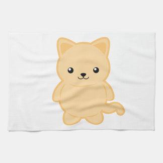 Kawaii Cat Tea Towel