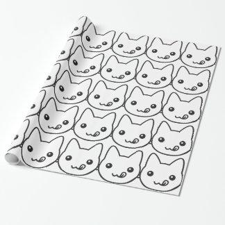 Kawaii Cat Wrapping Paper