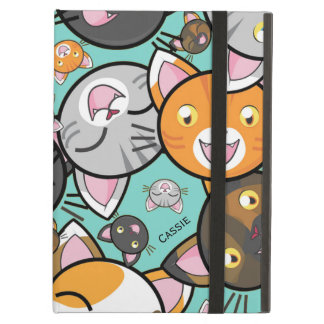 Kawaii Cats iPad Air Folio Case iPad Air Cases