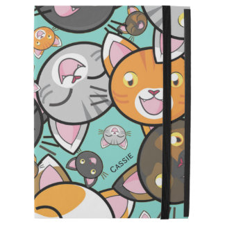 Kawaii Cats iPad Pro Folio Case