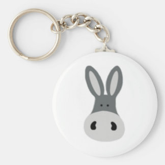 Kawaii Charlie the Donkey Key Chain