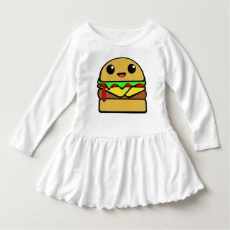 Kawaii Cheeseburger Character Tee Shirt