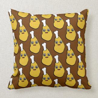 Kawaii Chicken Leg Brown TP Cushion