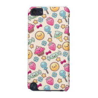 Kawaii child pattern with cute doodles iPod touch 5G cases