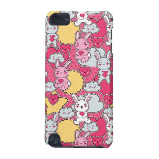 Kawaii Child Pattern with Cute Doodles iPod Touch (5th Generation) Covers
