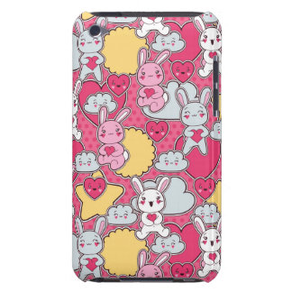 Kawaii Child Pattern with Cute Doodles iPod Touch Covers
