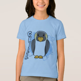 Kawaii Chill Penguin Child's T-Shirt