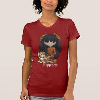 Kawaii China Doll Baby Tiger T-Shirt