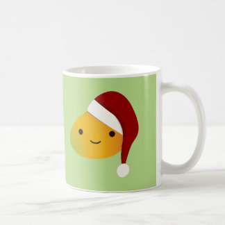 Kawaii Christmas Mango Coffee Mug