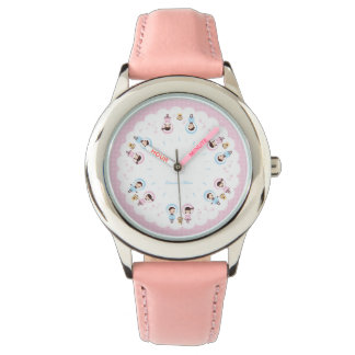 Kawaii Clara - Winter (pink) Watch