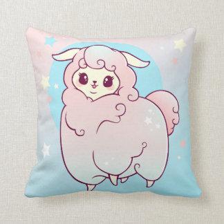 Kawaii Cloud Alpaca Throw Pillow