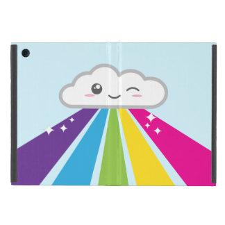 Kawaii Cloud and Rainbow iPad Mini Case