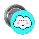 Kawaii Cloud Button