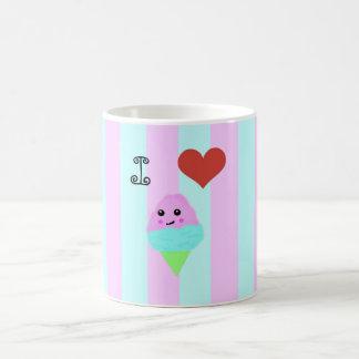 Kawaii Cotton Candy Basic White Mug