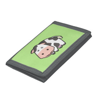 Kawaii Cow Trifold Wallet