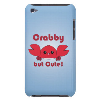 Kawaii Crabby but Cute iPod case Case-Mate iPod Touch Case