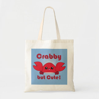 Kawaii Crabby but Cute tote bag