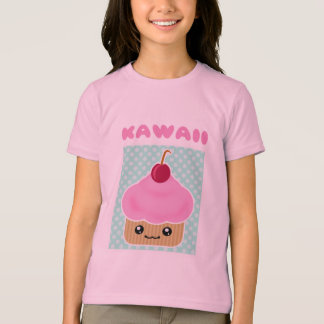 Kawaii Cupcake Cherry Candy T-Shirt