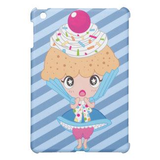 Kawaii Cupcake Girl iPad Mini Case