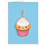 Kawaii Cupcake Greeting Card