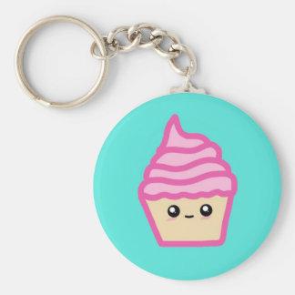 Kawaii Cupcake Keychain