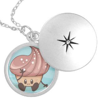 Kawaii Cupcake Necklace