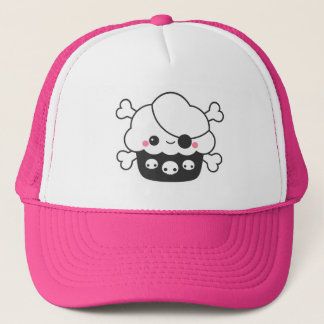 Kawaii Cupcake Pirate Trucker Hat