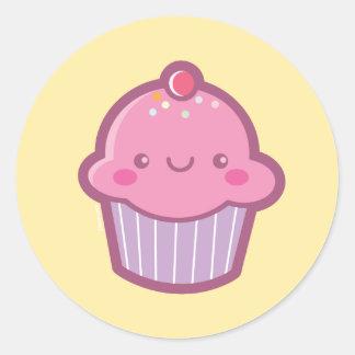 Kawaii Cupcake Stickers