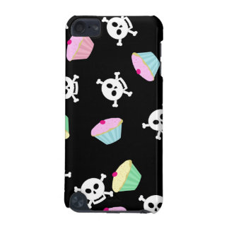 Kawaii Cupcakes and Skulls Cute Emo iPod Touch iPod Touch 5G Cases
