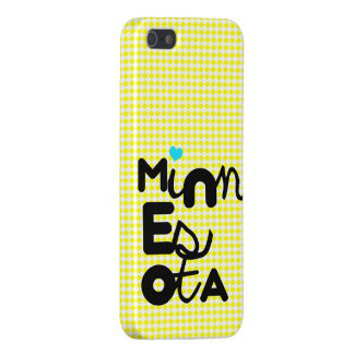 Kawaii Cute Adorable Minnesota State Typography iPhone 5 Covers