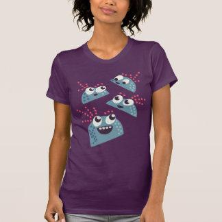 Kawaii Cute Cartoon Candy Friends Characters T-shirt