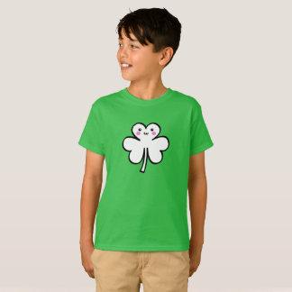Kawaii Cute Clover T-Shirt for St. Patrick's Day
