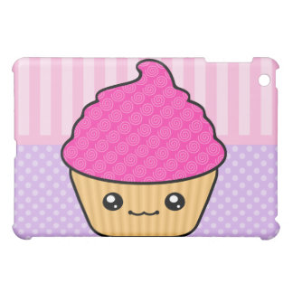 Kawaii Cute Cupcake iPad Mini Cases