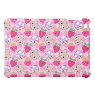 Kawaii Cute Cupcake Mushroom Berry Jumbl iPad Mini Case