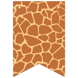 Kawaii Cute Giraffe Pattern. Bunting