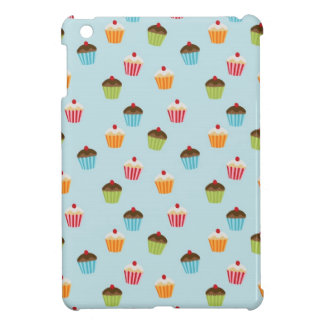 Kawaii cute girly cupcake cupcakes foodie pattern iPad mini case