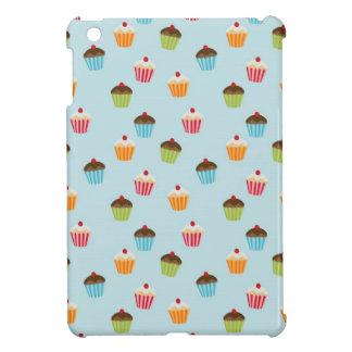 Kawaii cute girly cupcake cupcakes foodie pattern cover for the iPad mini