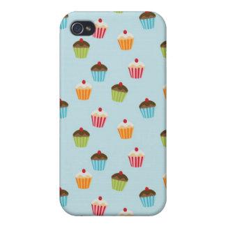 Kawaii cute girly cupcake cupcakes foodie pattern iPhone 4/4S covers