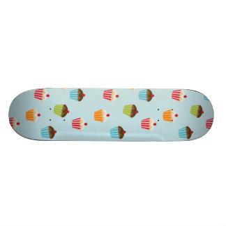 Kawaii cute girly cupcake cupcakes foodie pattern skate decks