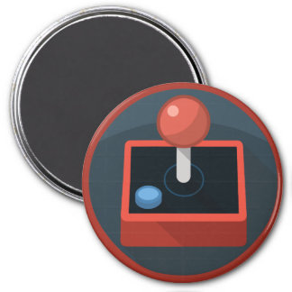 Kawaii Cute Joystick for the Nerd Geeks 7.5 Cm Round Magnet