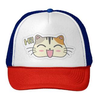 Kawaii Cute Little Kitty Kitten Cat. Cap