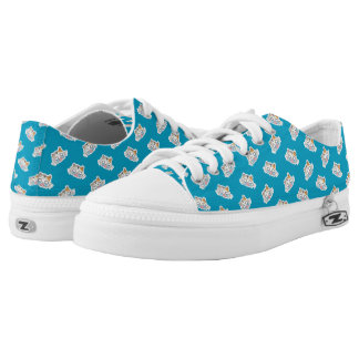 Kawaii Cute Little Kitty Kitten Cat. Low Tops