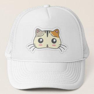 Kawaii Cute Little Kitty Kitten Cat. Trucker Hat