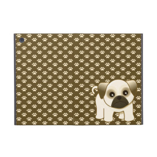 Kawaii Cute Little Pug Puppy Dog Cartoon Animal Case For iPad Mini