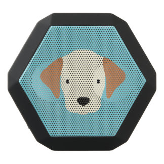Kawaii Cute Little Puppy Dog. Black Bluetooth Speaker